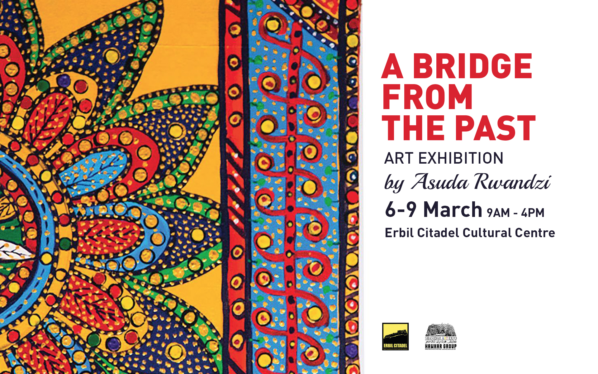 Lisa alex wedding ceremony in erbil erbil lifestyle a bridge from the past art exhibition by asuda rwandzi 6 9 march fandeluxe Images