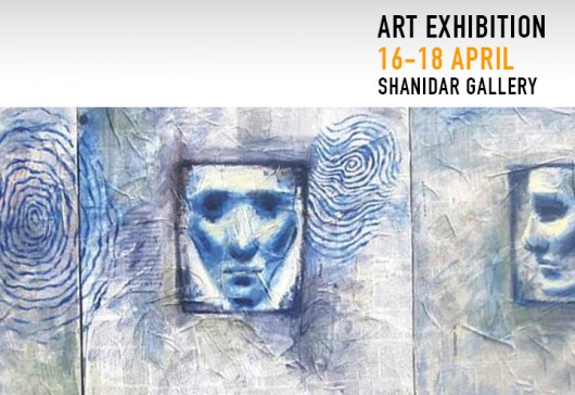 Art Exhibition at Shanidar Gallery 16-18 April