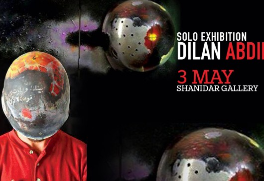 Solo Exhibition of Dilan Abdi at Shanidar Gallery 3 May
