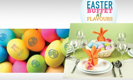 Enjoy Easter Sunday buffet at Flavours with your family and friends!