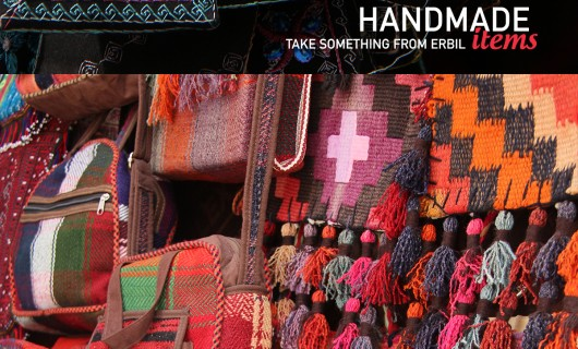Take a handmade item from Erbil