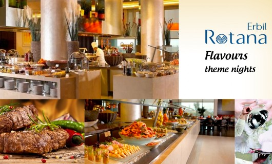 Flavours theme nights are back at Erbil Rotana