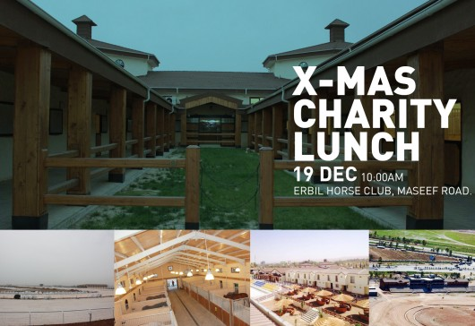 X-Mas Charity Lunch at Erbil Horse Club 19 December