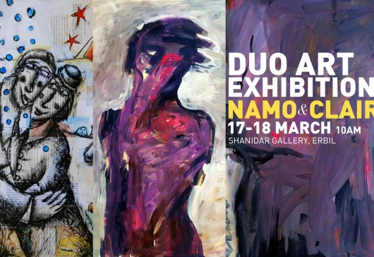 Duo Art Exhibition by NAMO & CLAIR 17-18 March