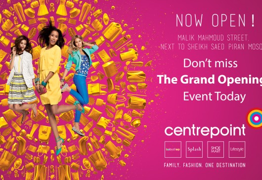 Today is the Grand Opening of Centerpoint Store in Slemani