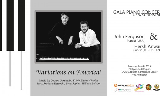 GALA Piano Concert in Erbil – June 8