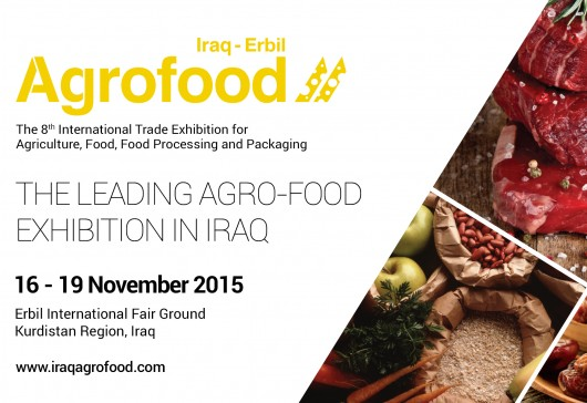 Iraq Erbil Agrofood 16-19 November 2015