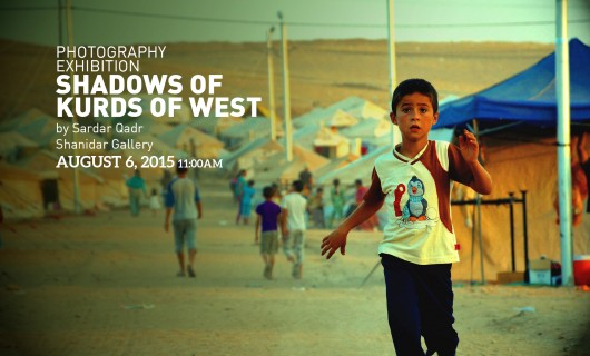 Shadows of Kurds of West Photography Exhibition August 6, 2015