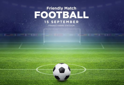 Friendly Football Match 15 September