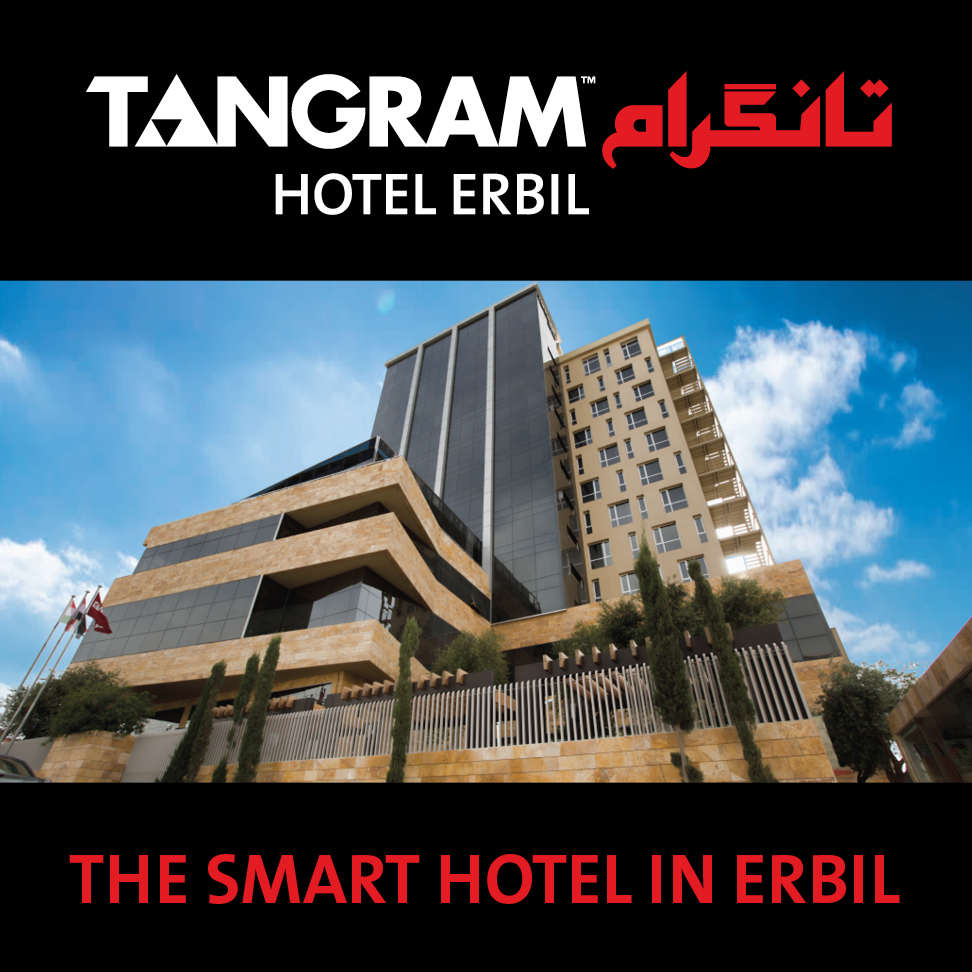 Book your stay at Tangram Hotel Erbil